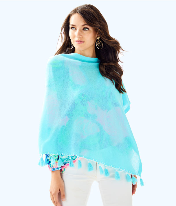 Elene Wrap, Seasalt Blue, large