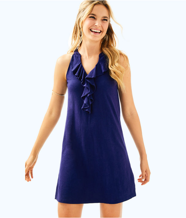Shay Dress, True Navy, large
