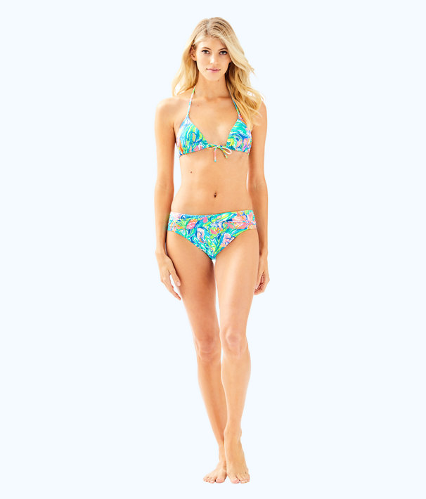 Lagoon Sarong Bikini Bottom, Bennet Blue Surf Gypsea Swim, large