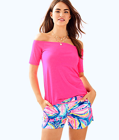"4"" Adie Short, Pink Sunset The Sunny Side, large"