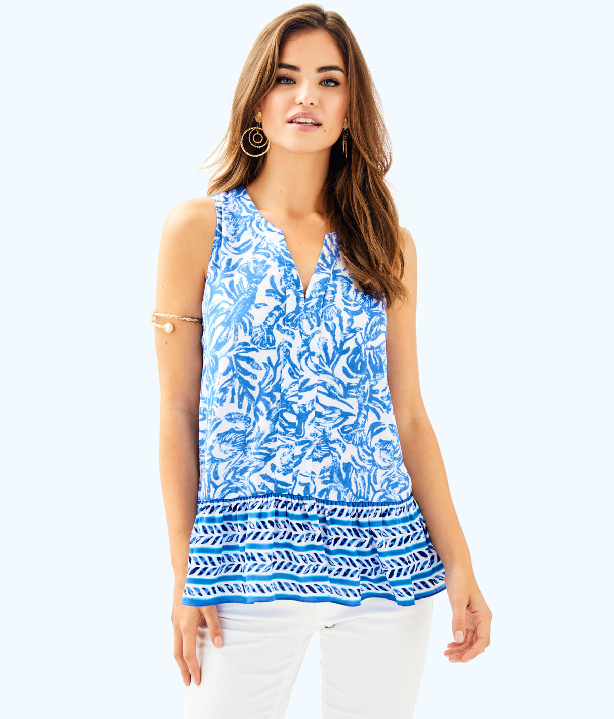 Lilly Pulitzer Lilly Pulitzer Womens Gramercy Top