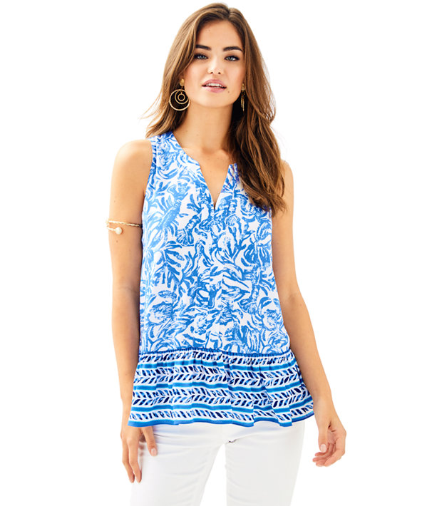 Gramercy Top, Resort White On A Roll Engineered Gramercy Top, large