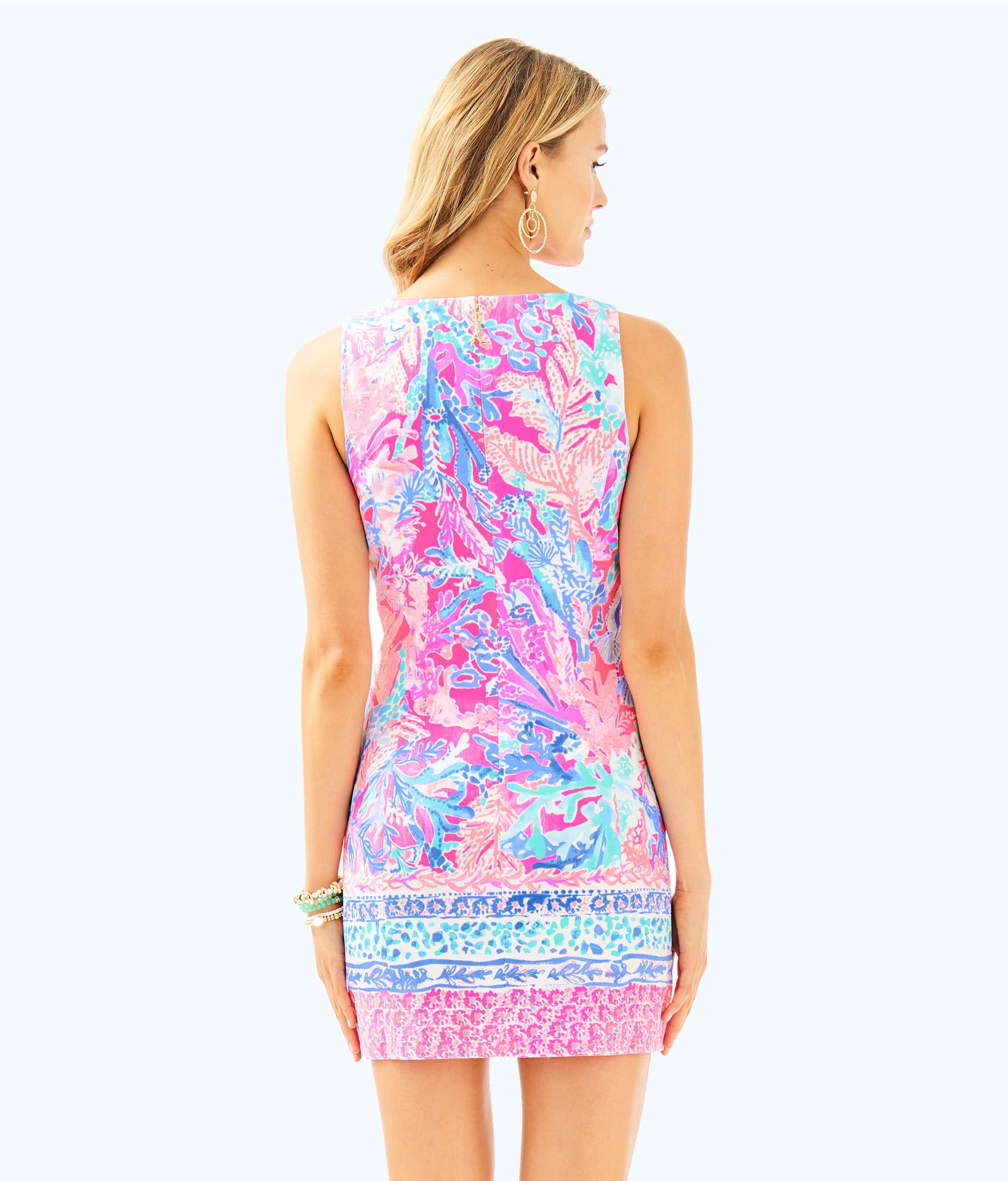 733e6e70595825 ... Mila Shift Dress, Light Pascha Pink Aquadesiac Engineered Shift, large  ...