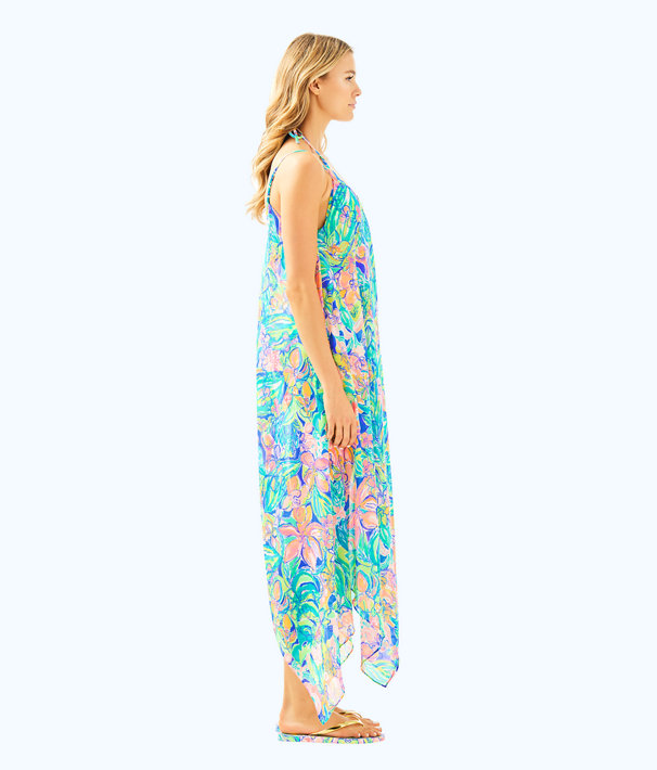 Perry Cover Up, Bennet Blue Surf Gypsea Swim, large