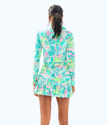 UPF 50+ Meryl Nylon Luxletic Hadlee Tennis Jacket, Multi Perfect Match, large 1