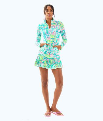 UPF 50+ Meryl Nylon Luxletic Hadlee Tennis Jacket, Multi Perfect Match, large 2