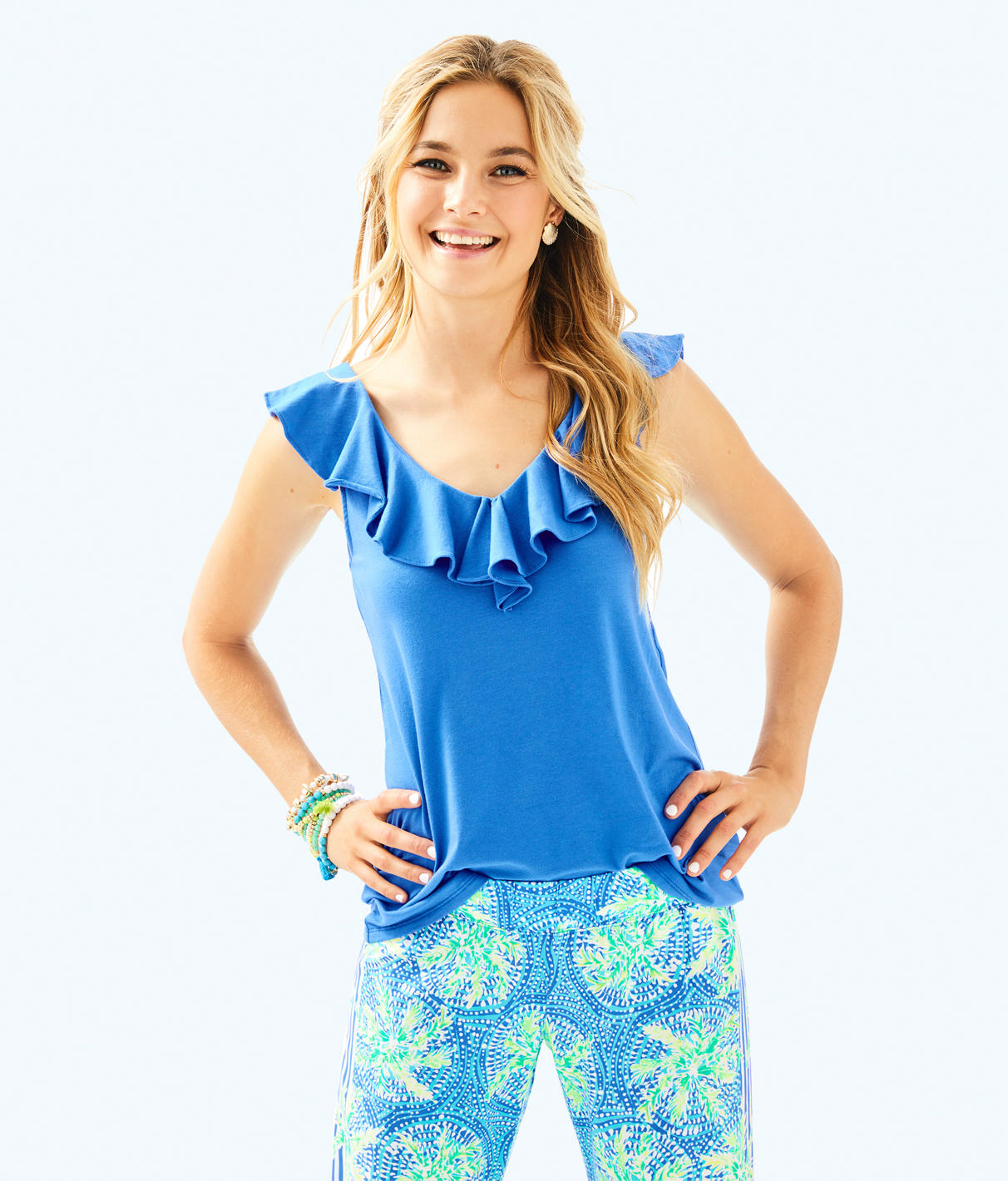 Lilly Pulitzer Lilly Pulitzer Womens Alessa Top