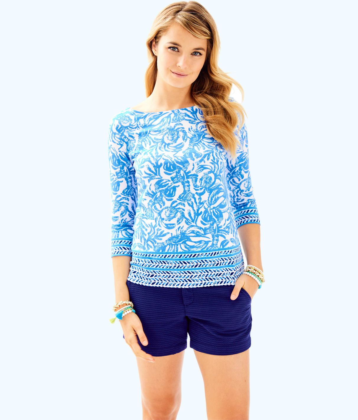 Lilly Pulitzer Lilly Pulitzer Womens Waverly Top
