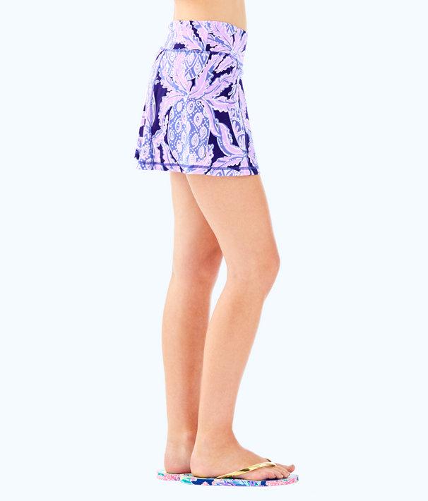 Luxletic Josephine Skort, Beckon Blue Coco Safari, large
