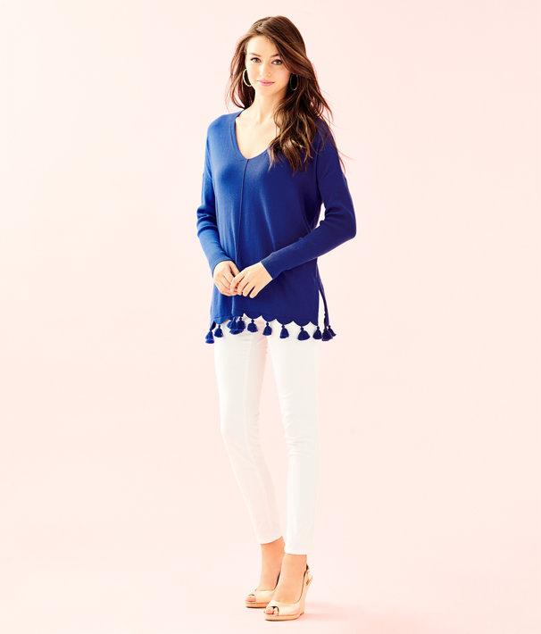 Martine Sweater, Royal Purple, large