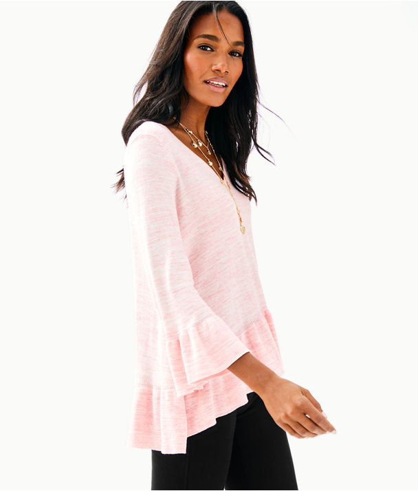 Adela Sweater, Coral Reef Tint Space Dye, large