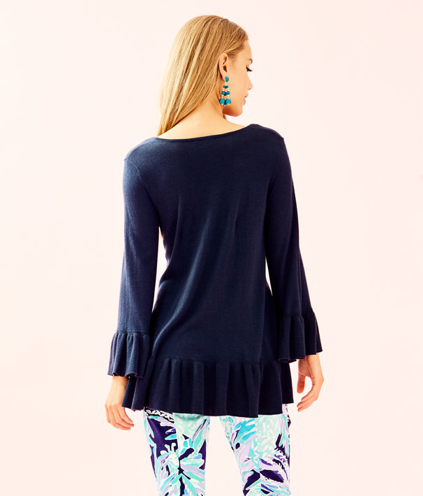 Adela Sweater, True Navy, large