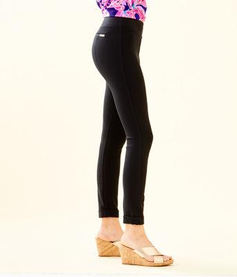 "27"" Jessa Ponte Pant, Black, large"