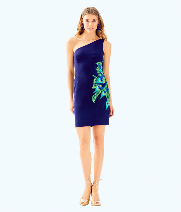 Jamie Dress, True Navy, large