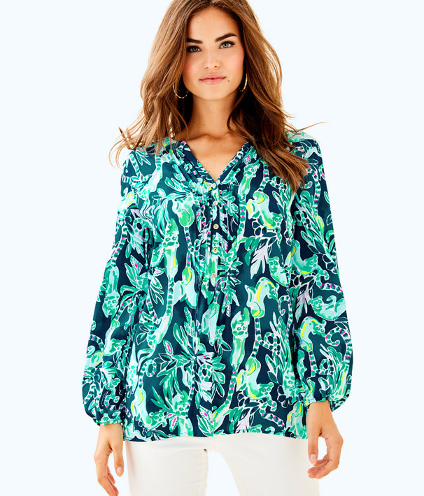 Harbour Island Tunic, Tidal Wave In The Details, large
