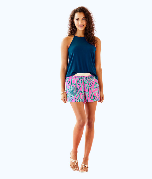 "5"" Rylan Short, Mandevilla Pink Extra Lucky, large"