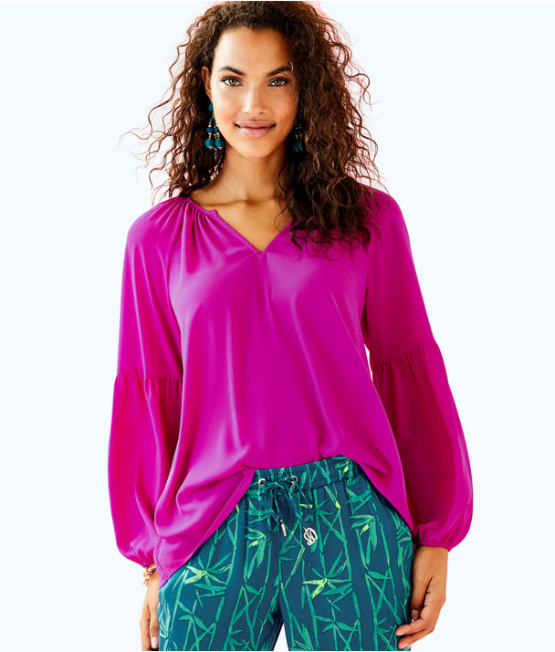 Charleigh Top, Blackberry, large
