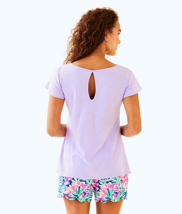 Florabelle Top, Light Lilac Verbena, large