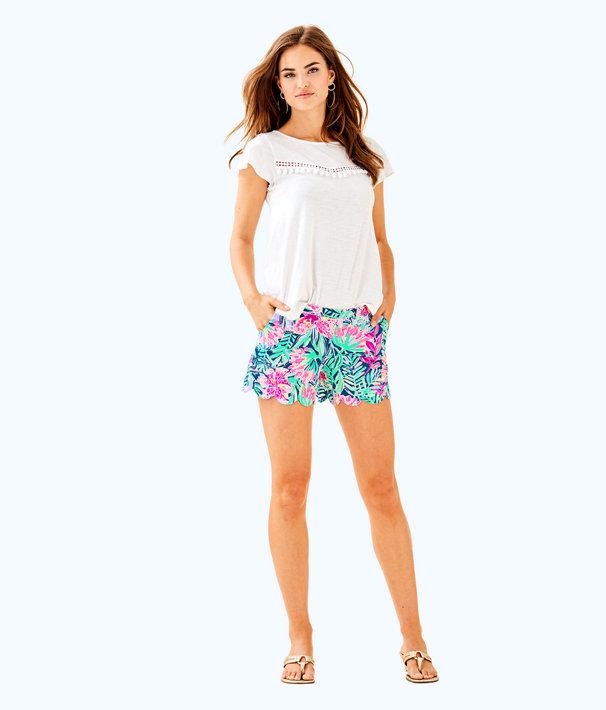 Florabelle Top, Resort White, large