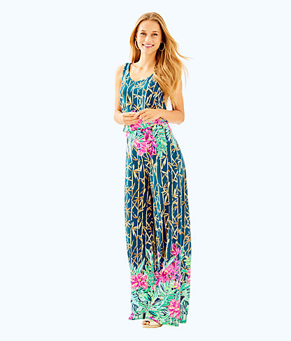 Kori Jumpsuit, Multi Slathouse Soiree Engineered Jumpsuit, large