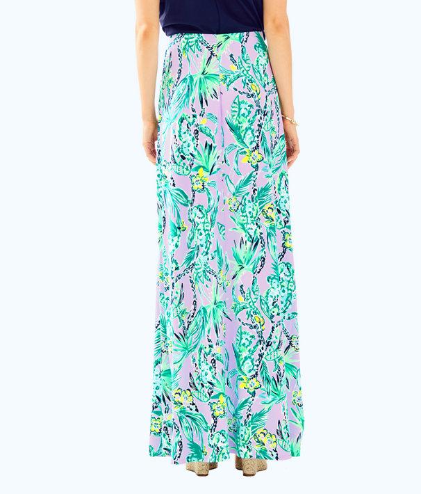 Suri Maxi Skirt, Light Lilac Verbena Its Impawsible Eng Skirt, large