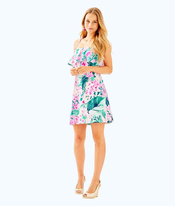 Annastasha Dress, Multi Via Flora, large