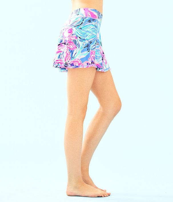 UPF 50+ Luxletic Cornelia Skort, Bennet Blue Hypes And Stripes, large