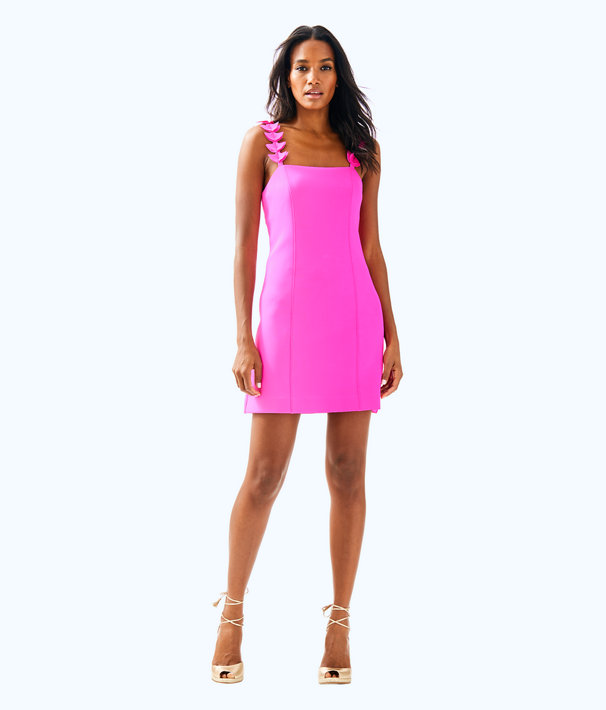 Shellbee Dress, Mandevilla Pink, large