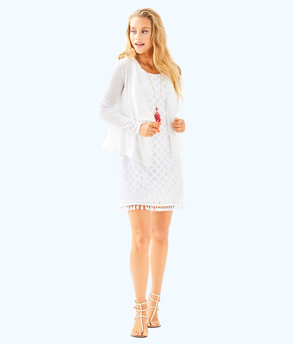 Maleta Cardigan, Resort White, large