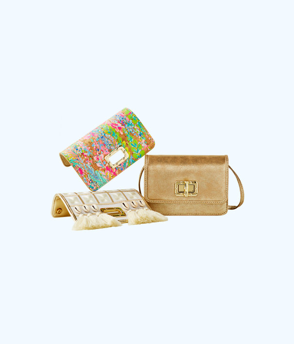 Ibiza Printed Interchangeable Flap, Multi Catch The Wave Small Accessories, large