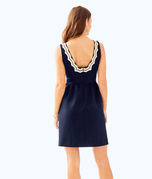 Rorey Dress, True Navy, large