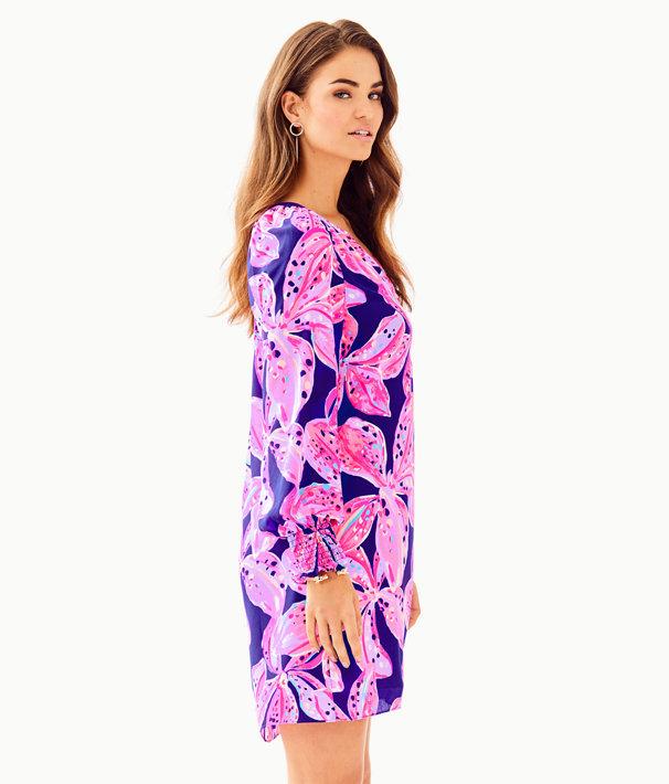 Brynle Dress, Royal Purple Wild Child, large