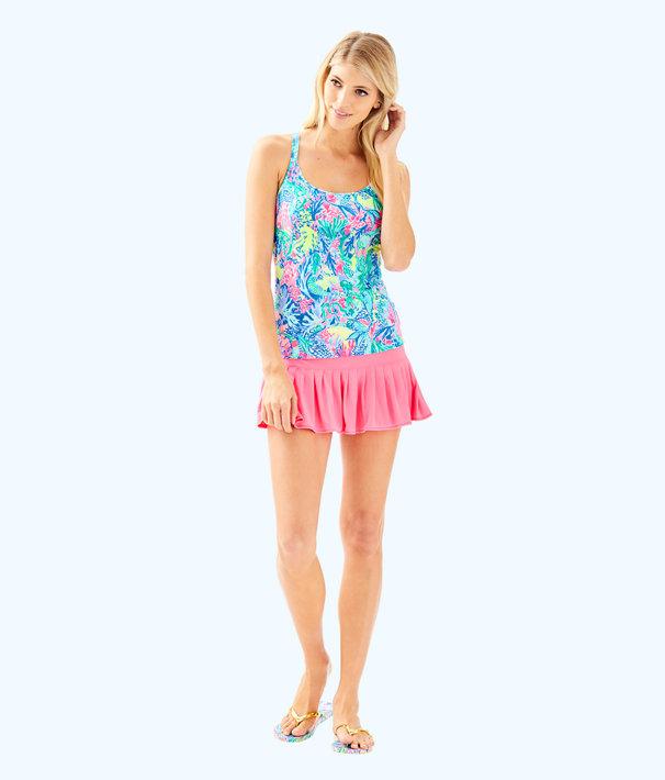 UPF 50+ Luxletic Meryl Nylon Taye Skort, Pascha Pink, large
