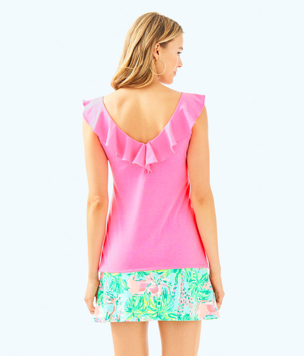 Alessa Top, Pink Sunset, large