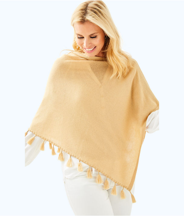 Elene Wrap, Sand Bar Metallic, large