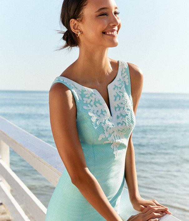 Gabby Shift Dress, Seasalt Blue, large