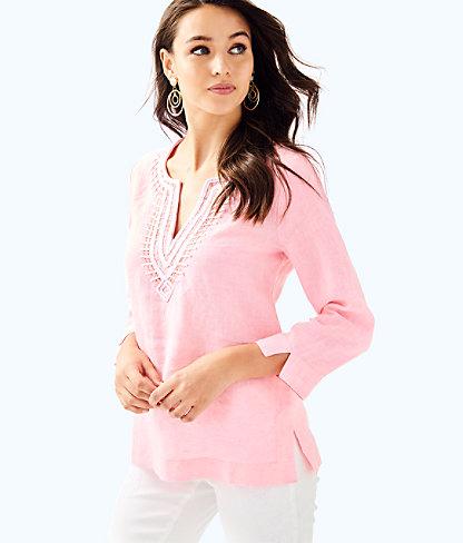 Amelia Island Tunic, Pascha Pink, large