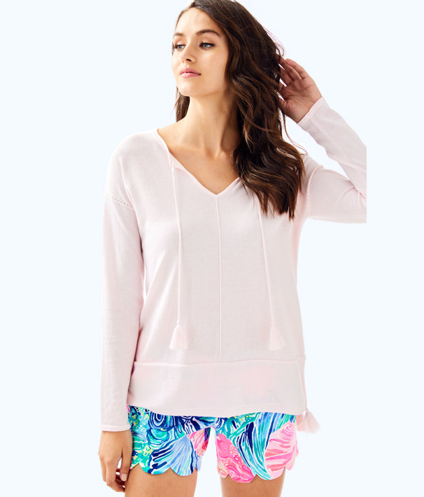 Colene Sweater, Paradise Tint Heather, large
