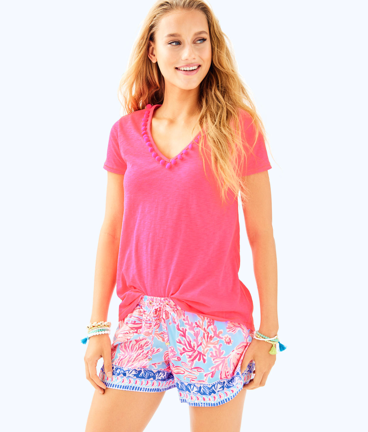 Lilly Pulitzer Lilly Pulitzer Womens Etta Top