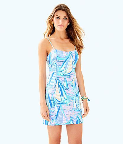 Shelli Stretch Dress, Light Lilac Verbena Aboat Time, large