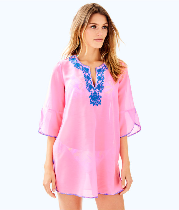 Piet Cover Up, Pink Sunset, large