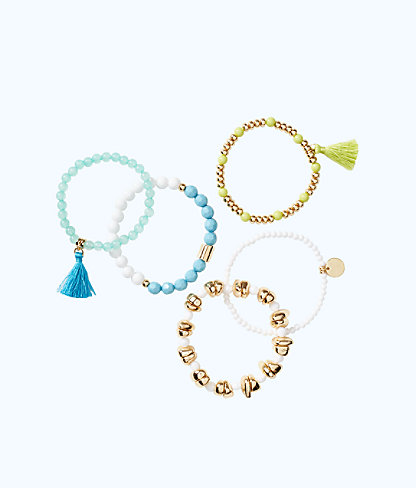 Surf Gypsea Stretch Bracelet Set, Multi, large