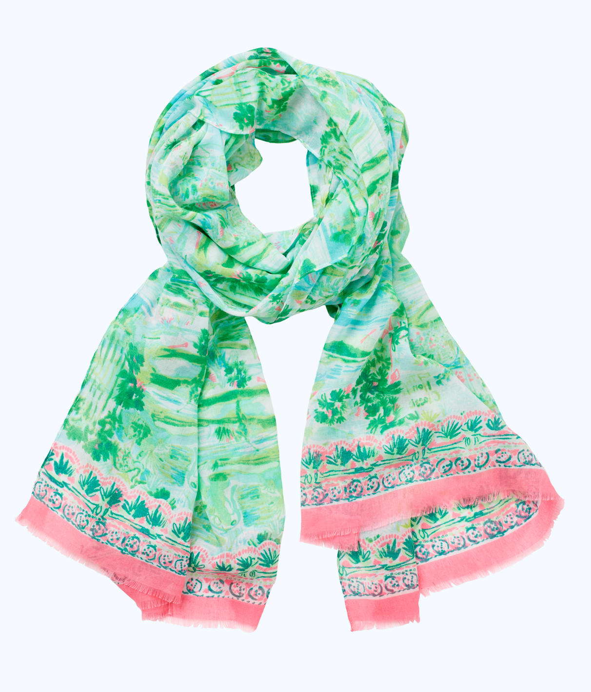 Lilly Pulitzer Lilly Pulitzer Womens Resort Scarf