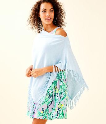 Lani Wrap, Heathered Boho Blue, large