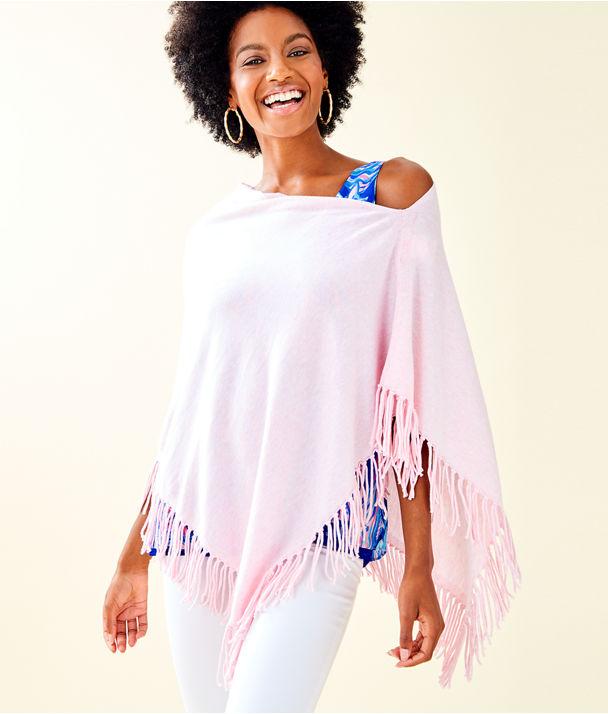 Lani Wrap, Heathered Paradise Pink, large