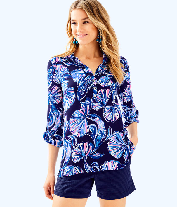 Everglades Top, Bright Navy In Reel Life, large