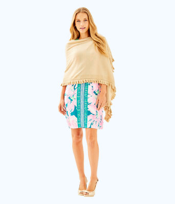 Orella Wrap, Sand Bar Metallic, large 2