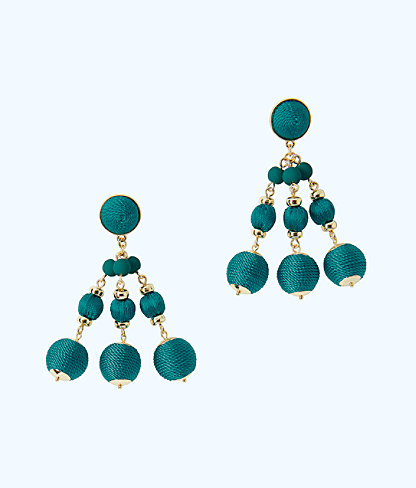 Slathouse Soiree Earrings, Tidal Wave, large