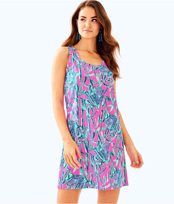 Raylee Dress, Mandevilla Pink Extra Lucky, large