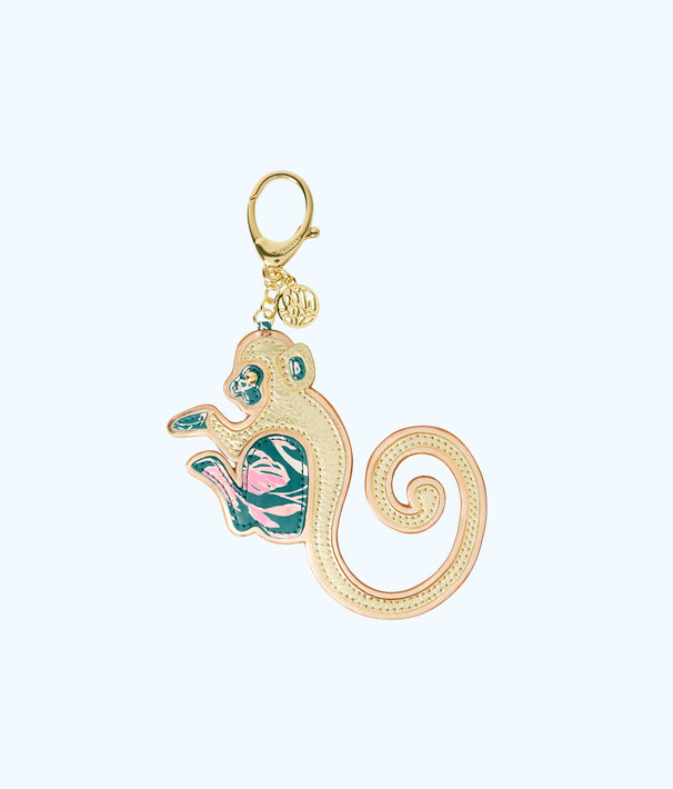Magical Monkey Bag Charm, Tidal Wave Its Prime Time Small, large